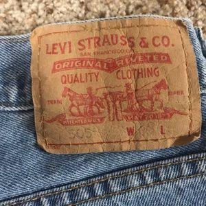 Authentic Levi's Jean Shorts